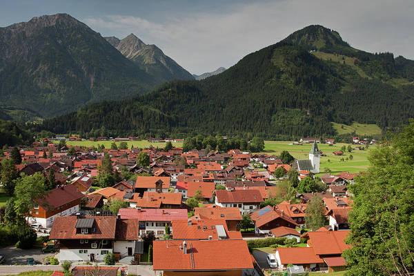 Photograph - Bad Hindelang Alpine Village by Aivar Mikko
