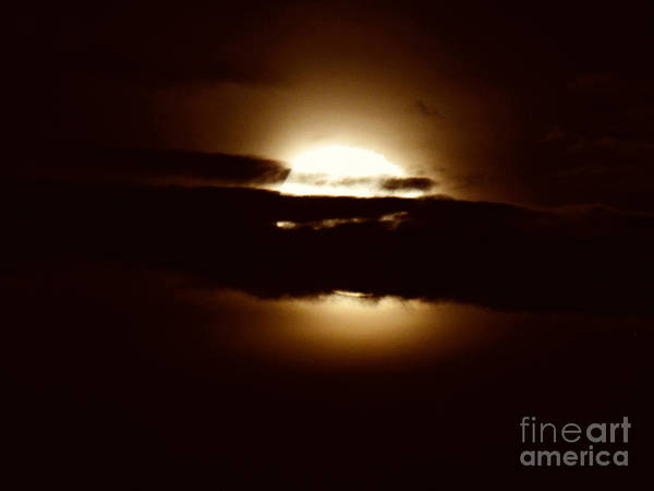 Photograph -  Bad Moon Rising by Robert Knight