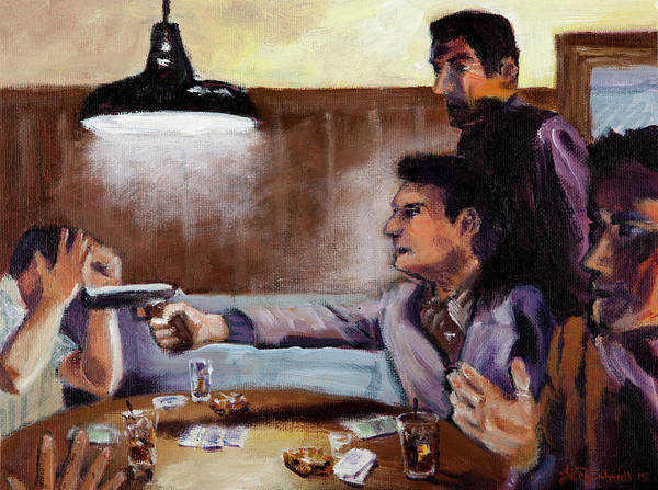 Painting - Bad Table Manners by Jason Reinhardt