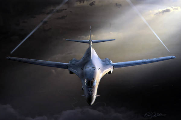 Boeing Digital Art - Bad To The Bone by Peter Chilelli