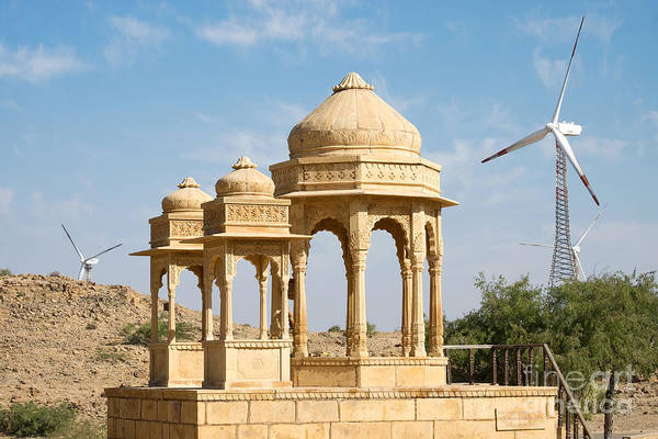 Photograph - Bada Bagh And Windmill by Yew Kwang