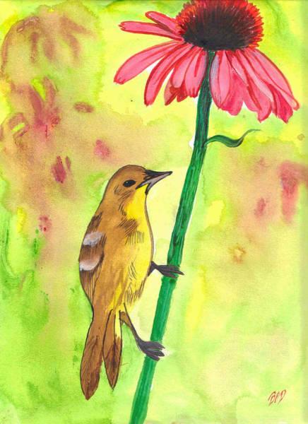 Badbird1 Art Print