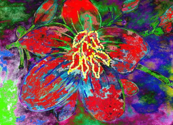 Badflower2 Art Print