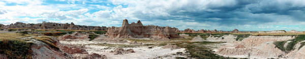 Photograph - Badlands 1 by CA Johnson