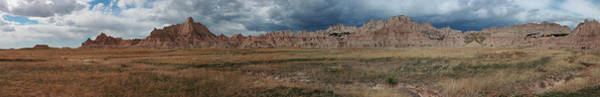 Photograph - Badlands 2 by CA Johnson