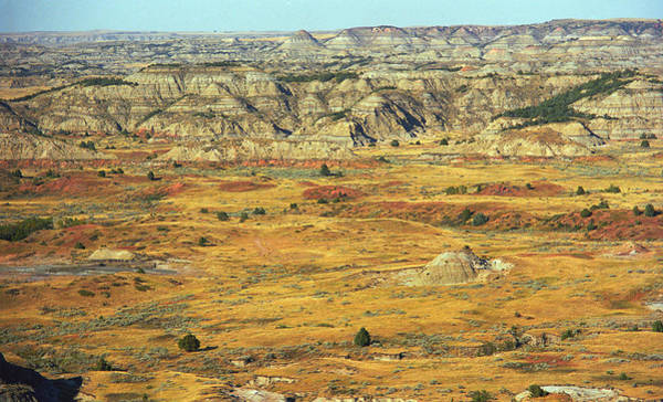 Roosevelt National Forest Photograph - Badlands #2 by Frank Romeo