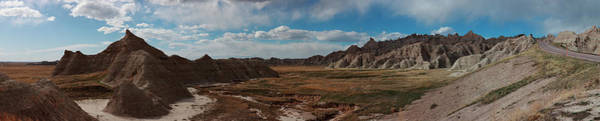 Photograph - Badlands 4 by CA Johnson