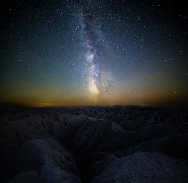 Astro Photograph - Badlands by Aaron J Groen