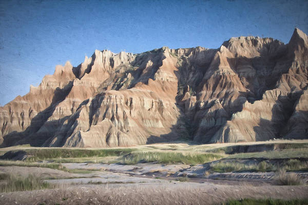 Photograph - Badlands by Christopher Meade