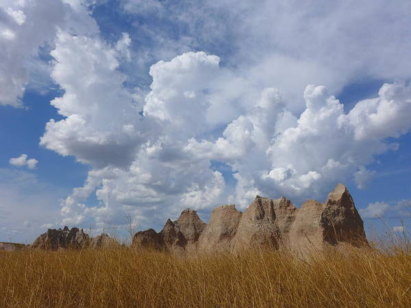 Photograph - Badlands by Keith McGill