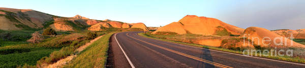 Photograph - Badlands Loop Road Sunset by Adam Jewell
