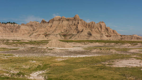 Photograph - Badlands National Park In South Dakota by Brenda Jacobs