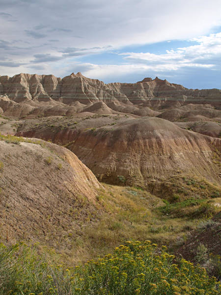 Photograph - Badlands National Park by James Peterson