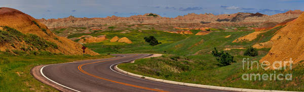 Photograph - Badlands National Park Scenic Drive by Adam Jewell
