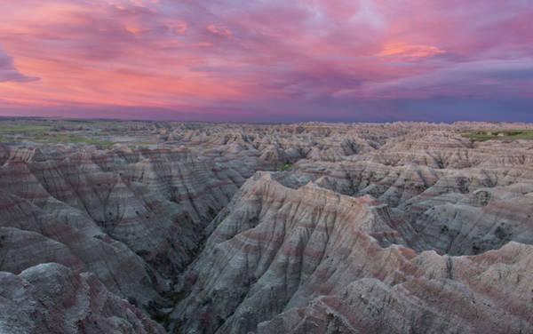 Photograph - Badlands Sunrise by Eilish Palmer