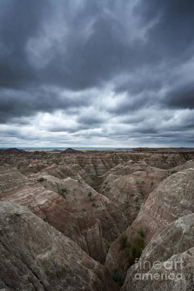 Mv Photograph - Badlands White River Valley  by Michael Ver Sprill