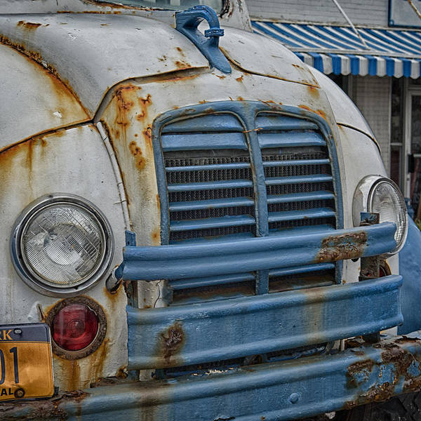 Photograph - Badly Bruised Divco by Guy Whiteley