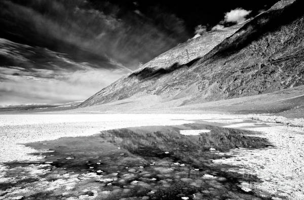 Photograph - Badwater At Badwater Basin by John Rizzuto