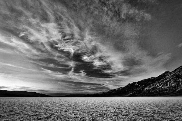 Photograph - Badwater Basin Sunset #2 - Death Valley by Stuart Litoff