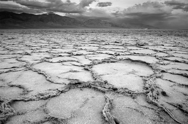 Photograph - Badwater by Mike Irwin