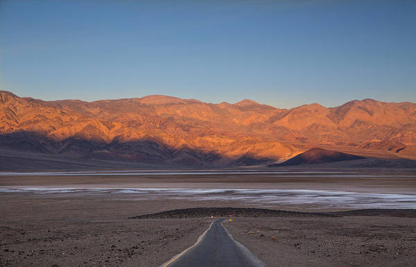 Death Valley Np Photograph - Badwater Sunrise by Kunal Mehra