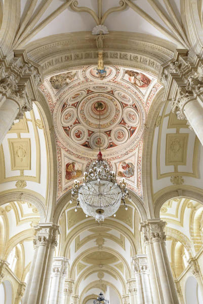Photograph - Baeza Cathedral - Vaults by RicardMN Photography