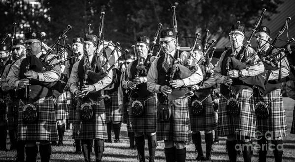 Bagpipe Wall Art - Photograph - Bagpipe Band - Scottish Festival And Highland Games by Gary Whitton