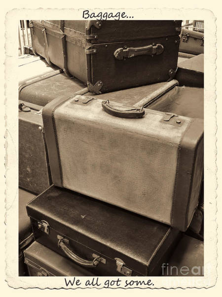 Photograph - Baggage by Jeff Breiman