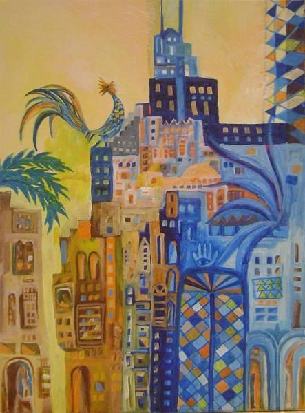 Baghdad Painting - Baghdad In Dreems 2 by Yahya Batat
