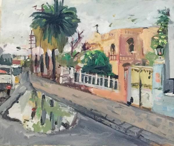Baghdad Painting - Baghdad Old House by Montasir Wali
