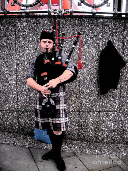 Photograph - Bagpipe by Janelle Dey