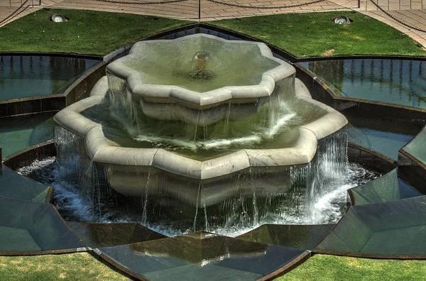 Photograph - Bahai Fountain by Dimitry Papkov