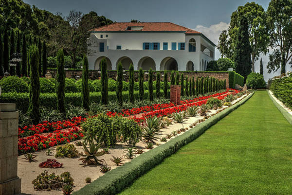 Photograph - Baha'i Gardens 1 by Dimitry Papkov