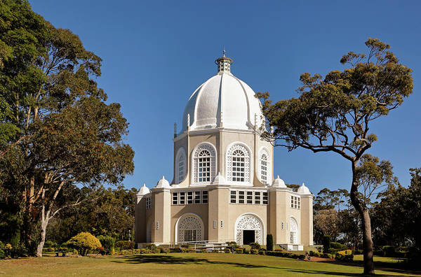 Photograph - Bahai Temple by Nicholas Blackwell