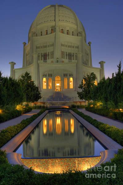 Bronstein Photograph - Bahai Temple by Sandra Bronstein