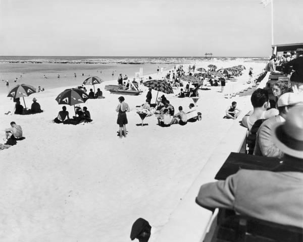 Wall Art - Photograph - Bahama Beach Scene by Underwood Archives