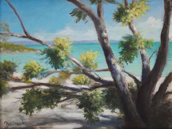 Painting - Bahamas Shade by Alan Zawacki