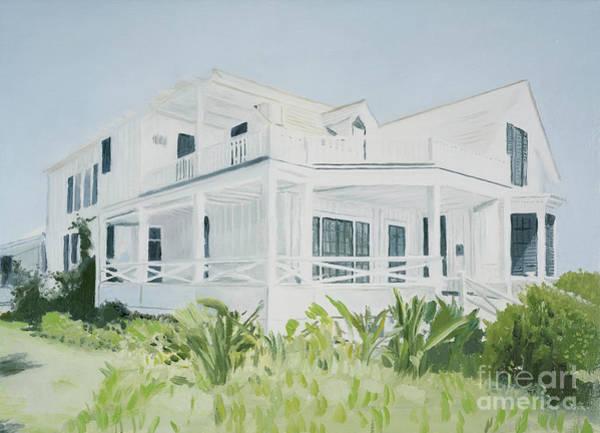 Porch Painting - Bahamian House, 2004 by Alessandro Raho