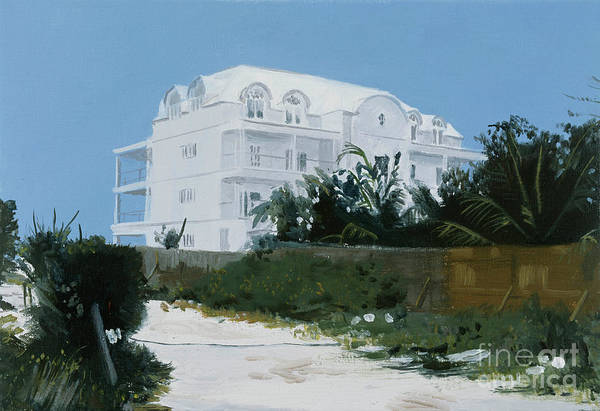 Wall Art - Painting - Bahamian House by Alessandro Raho