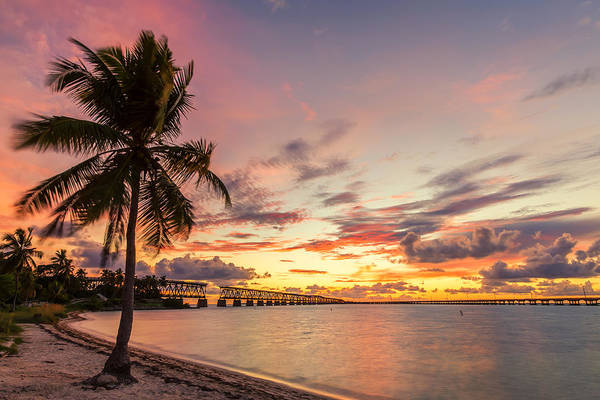 Flagler Photograph - Bahia Honda State Park Sunset by Stefan Mazzola