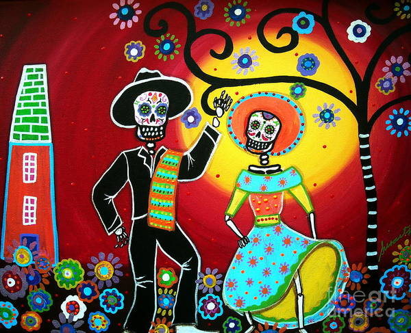 Wall Art - Painting - Bailar by Pristine Cartera Turkus
