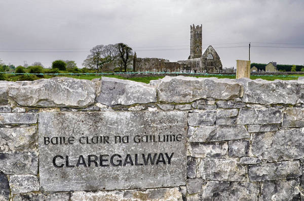 Photograph - Baile Clair Na Gaillime - Claregalway by Bill Cannon