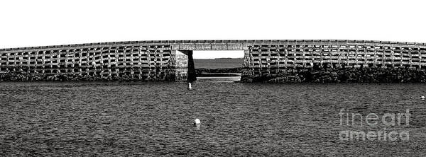 Wall Art - Photograph - Bailey Island Bridge by Olivier Le Queinec