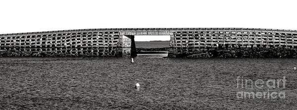 Photograph - Bailey Island Bridge by Olivier Le Queinec