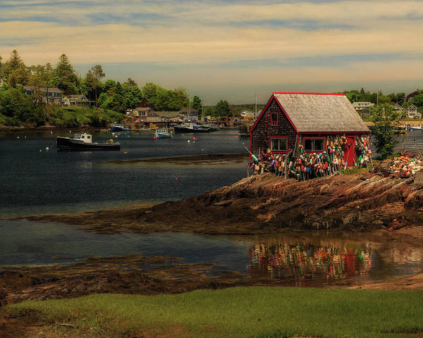 Photograph - Bailey Island Lobster Shack by John Vose