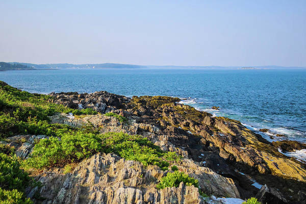 Bailey's Beach Photograph - Bailey Island Maine  by Debra Forand