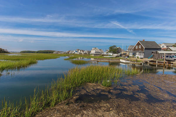 Photograph - Baileys Causeway Scituate Massachusetts by Brian MacLean