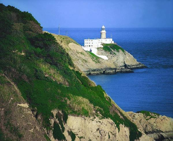 Horizontally Photograph - Baily Lighthouse, Howth, Co Dublin by The Irish Image Collection