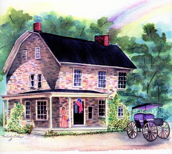 Wall Art - Painting - Baird'stavern by Melody Allen