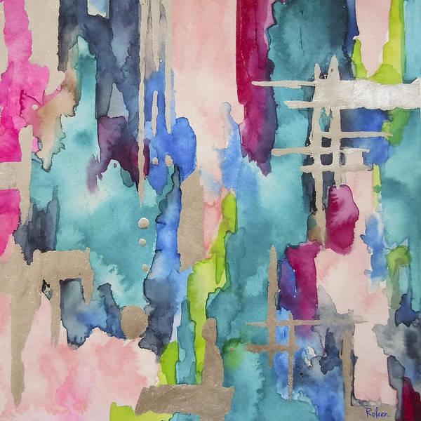 Contemporary Wall Art - Painting - Baja Laguna No3 by Roleen Senic